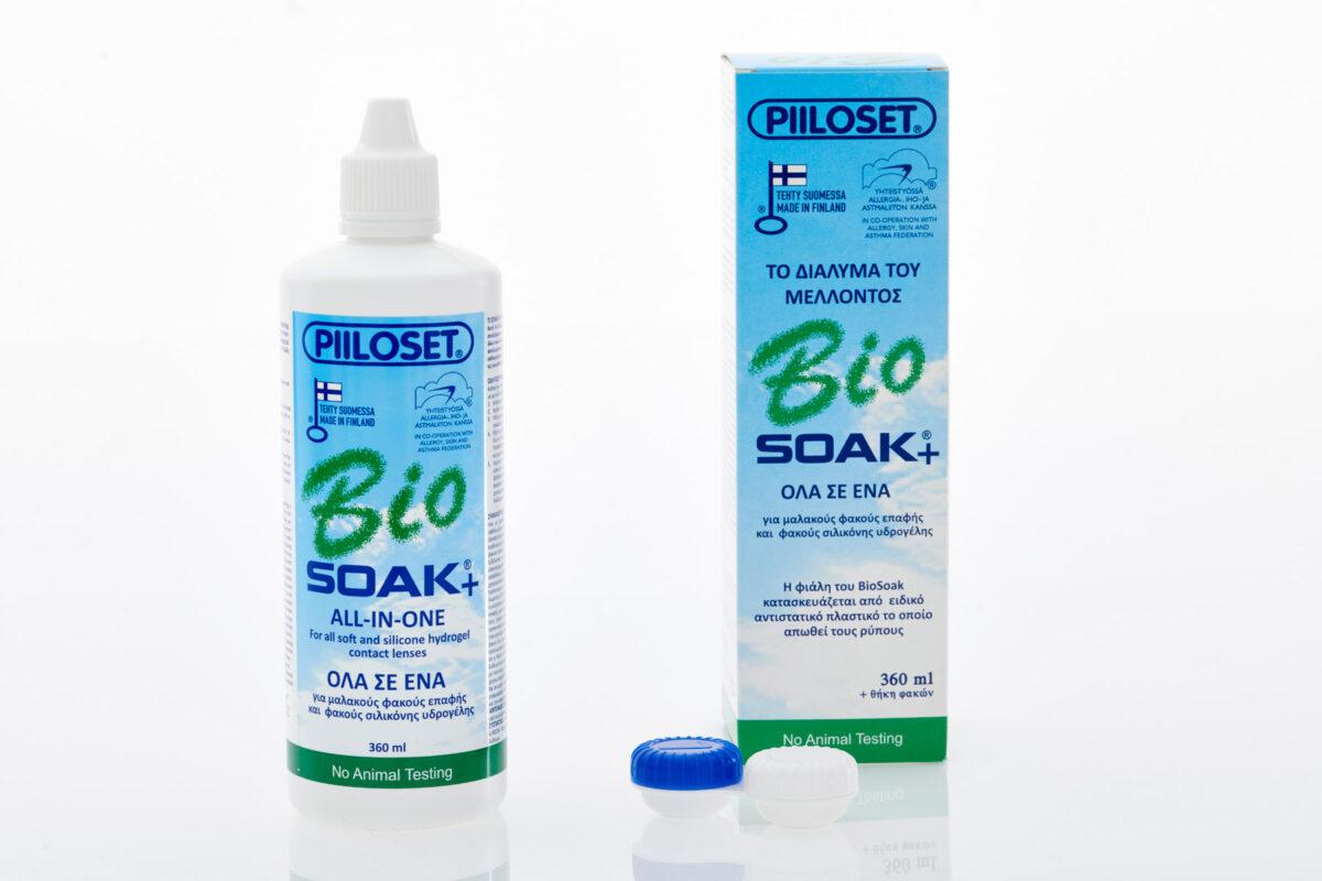 Υγρό φακών επαφής Biosoak