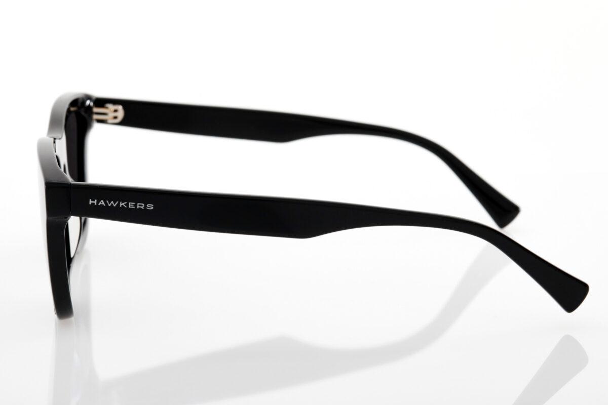 Unisex Black Sunglasses Hawkers BLACK DARK ONE DOWNTOWN