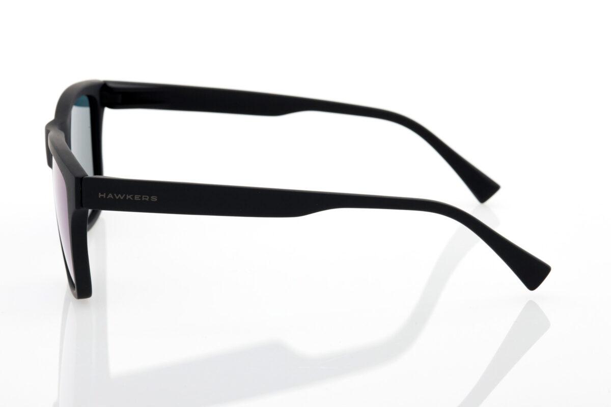 Unisex Μαύρα Γυαλιά Καθρέφτες Hawkers POLARIZED RUBBER BLACK SKY ONE LS