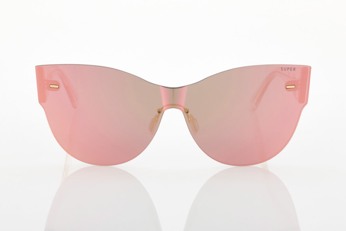 Γυναικεία Ροζ Γυαλιά Ηλίου Καθρέφτης Retrosuperfuture