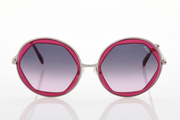 Γυναικεία Φούξια Ασημί Γυαλιά Ηλίου Emilio Pucci