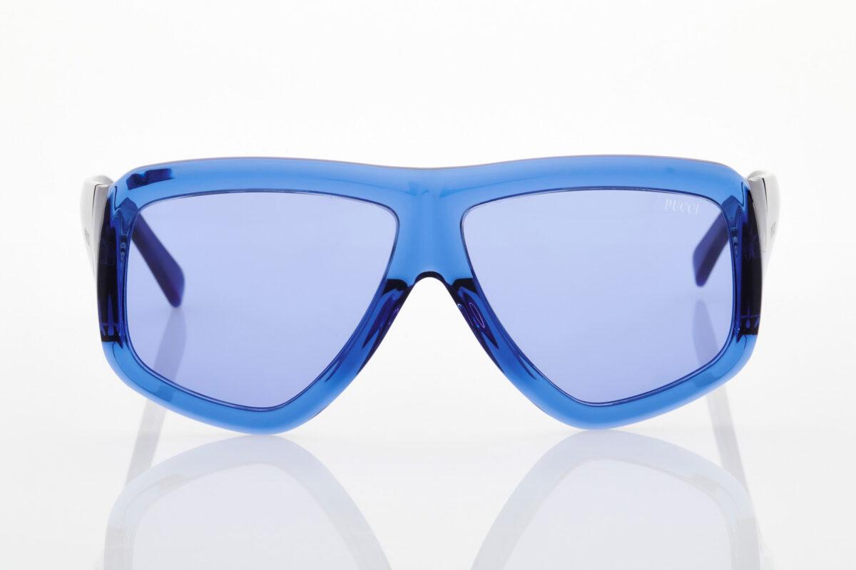 Γυναικεία Μπλε Ηλεκτρίκ Γυαλιά Ηλίου Emilio Pucci