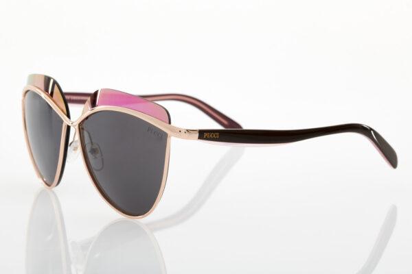 Γυναικεία Ροζ Χρυσά Γυαλιά Ηλίου Emilio Pucci