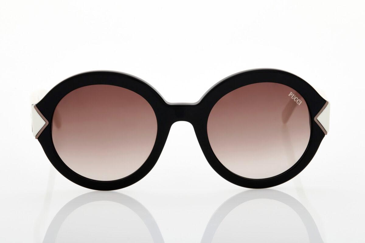 Γυναικεία Ασπρόμαυρα Γυαλιά Ηλίου Emilio Pucci