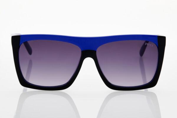 Γυναικεία Μαύρα-Μπλε Ηλεκτρίκ Γυαλιά Ηλίου Emilio Pucci