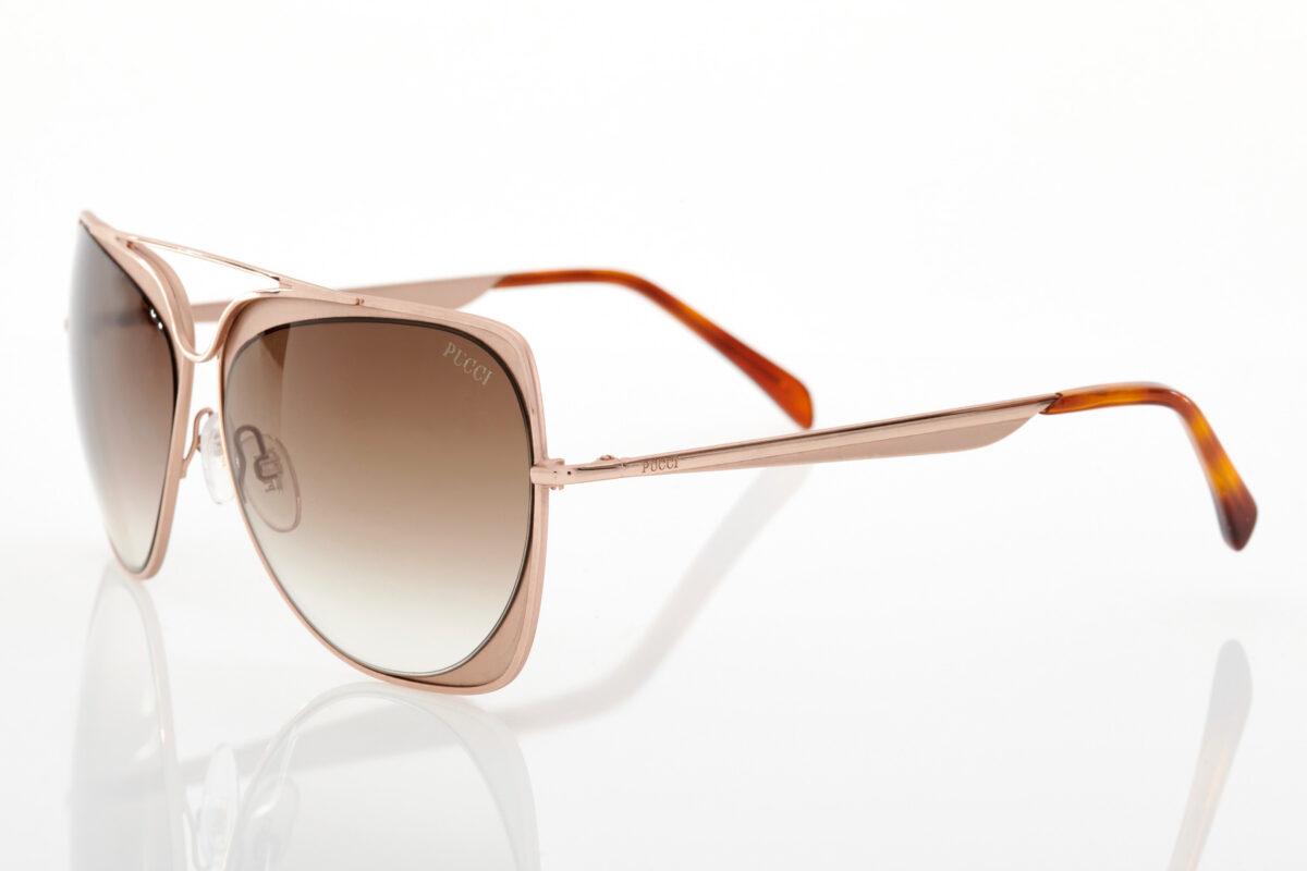 Gold Sunglasses Emilio Pucci for women