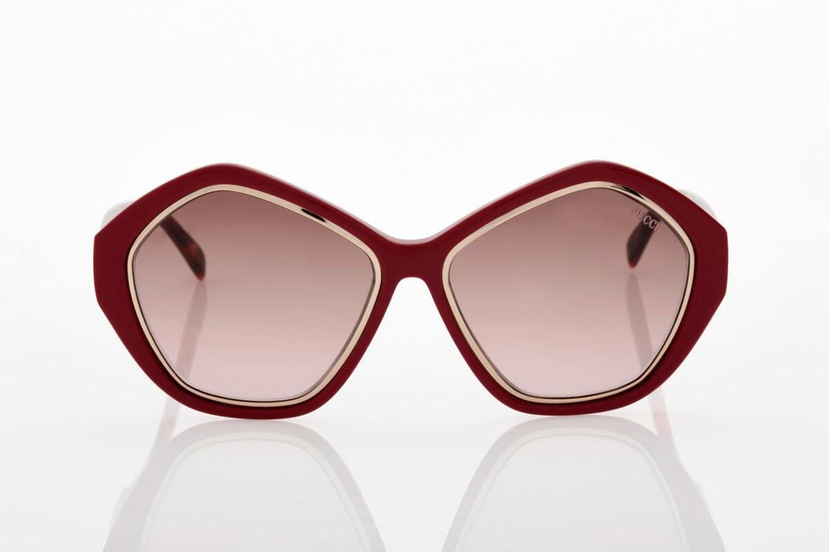 Γυναικεία Μπορντό Γυαλιά Ηλίου Emilio Pucci