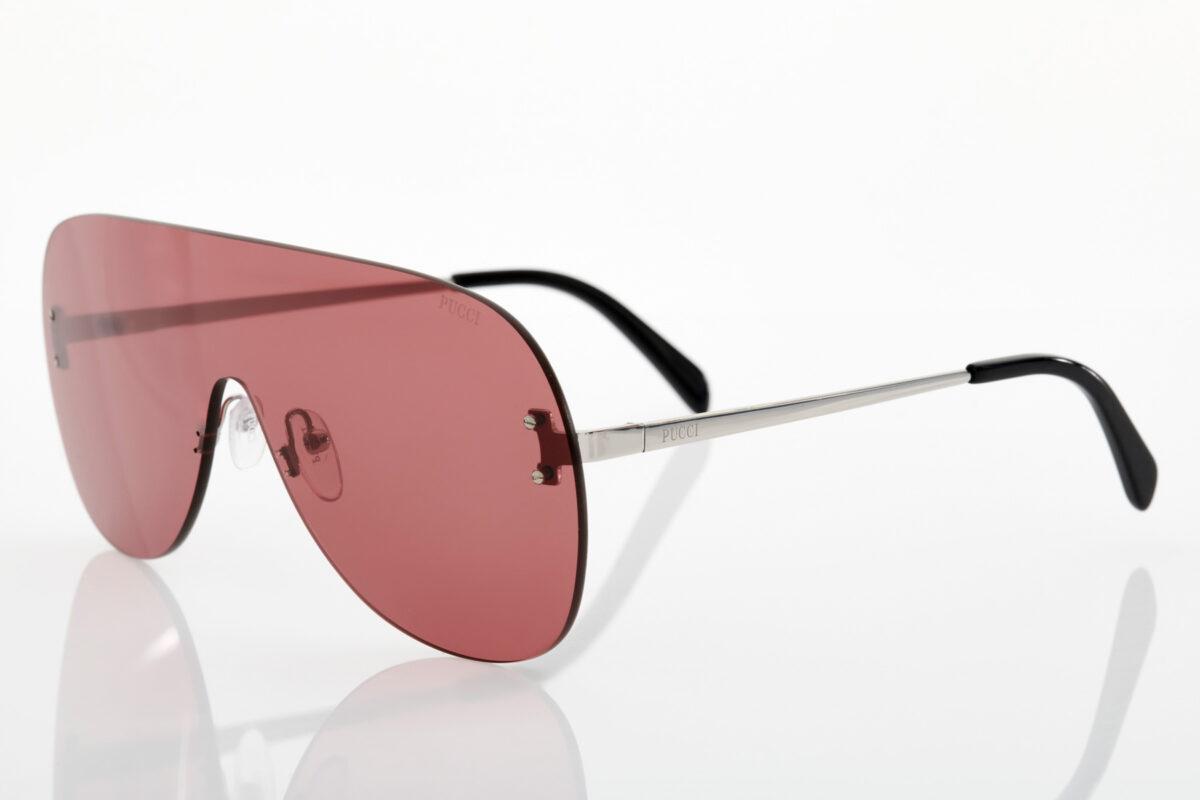 Silver Sunglasses Emilio Pucci for women