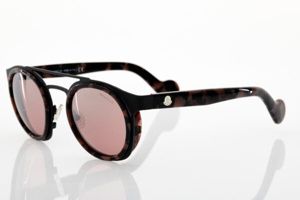 Unisex Brown Moncler Sunglasses for men