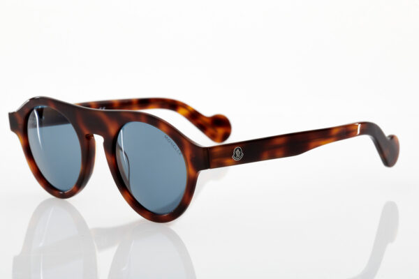 Unisex Moncler Tortoise Sunglasses