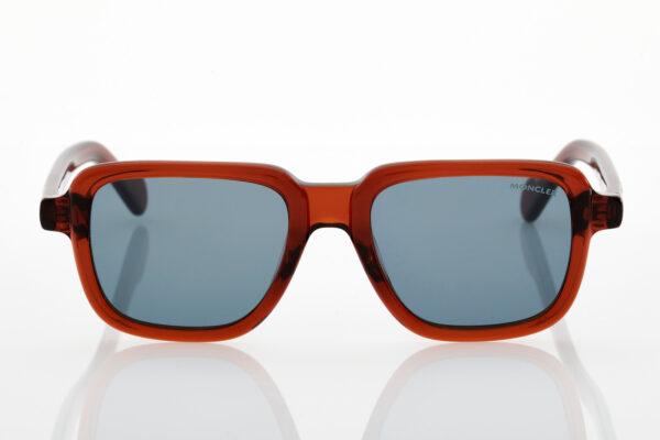 Unisex Moncler Brown Sunglasses