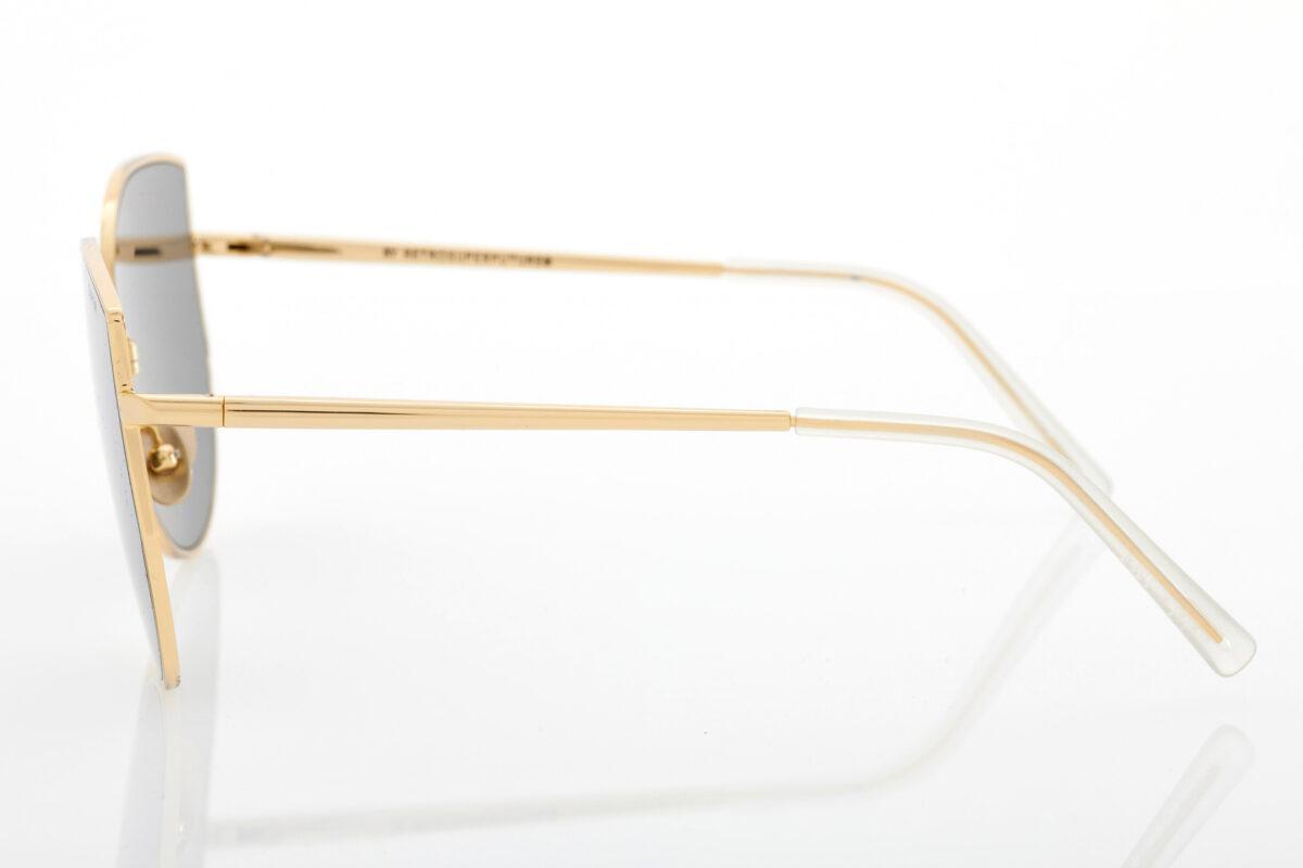 Γυναικεία Χρυσά Γυαλιά Ηλίου Retrosuperfuture