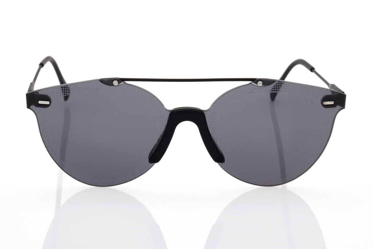 Unisex Μαύρα Γυαλιά Ηλίου Retrosuperfuture