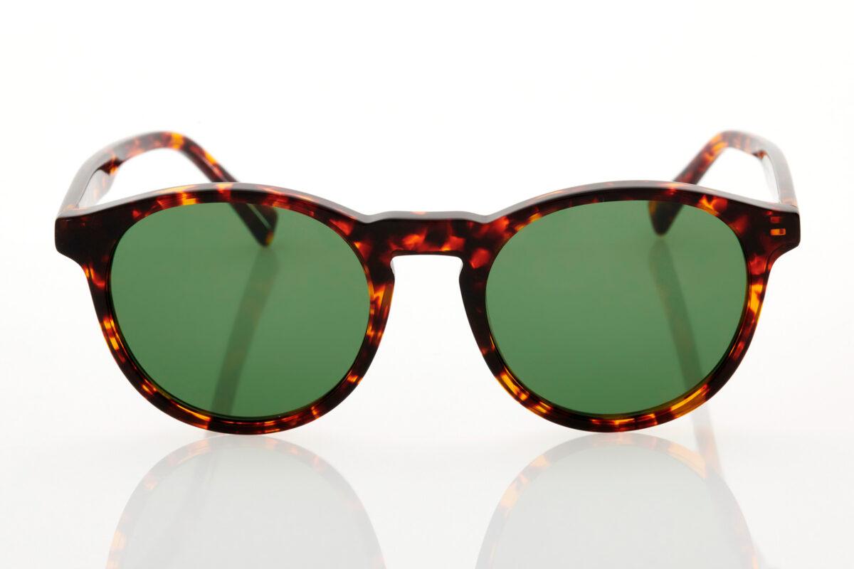 Unisex Hawkers BEL-AIR X - GREEN Tortoise Sunglasses