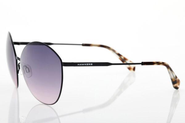 BLACK ROSE GRADIENT BESSIE black sunglasses for women