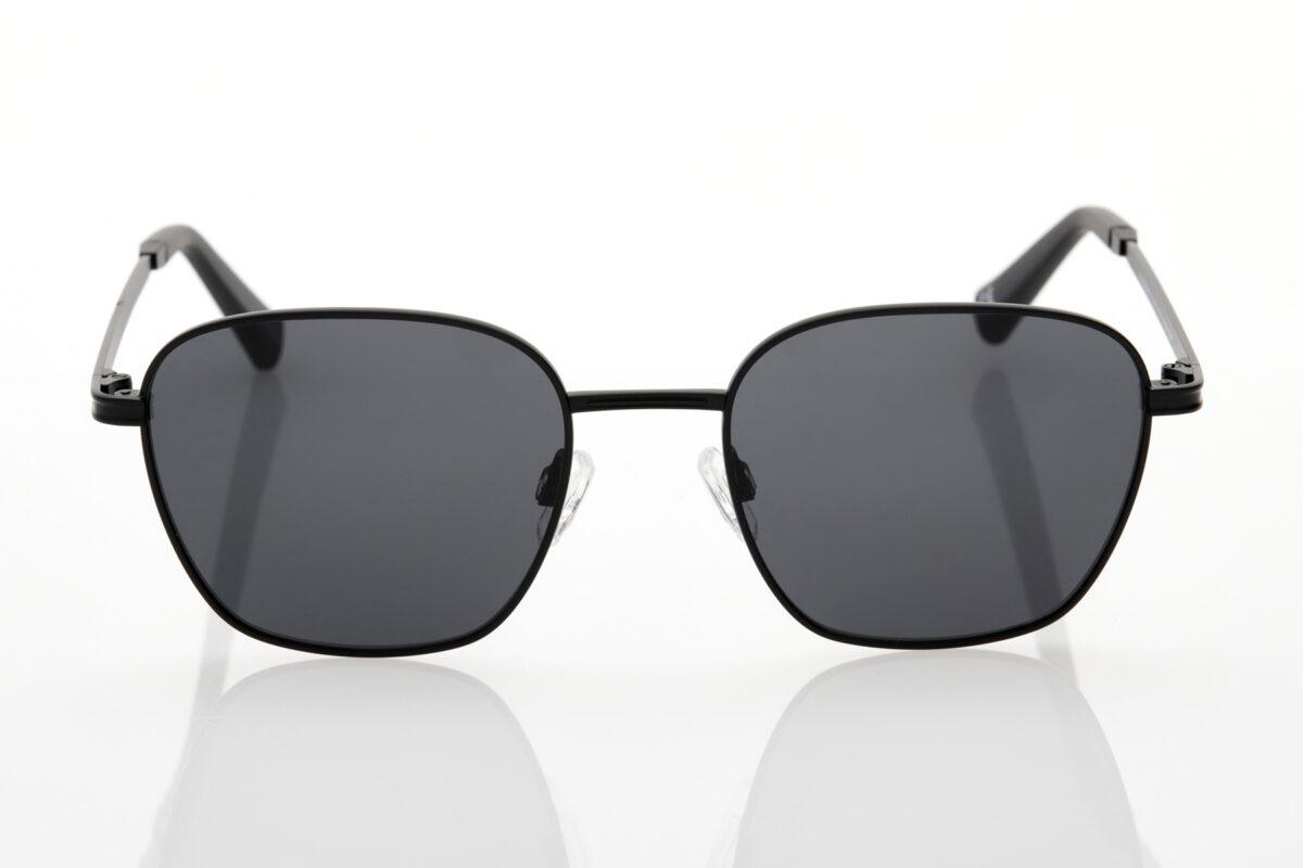 Unisex Hawkers Black Sunglasses Signal Black