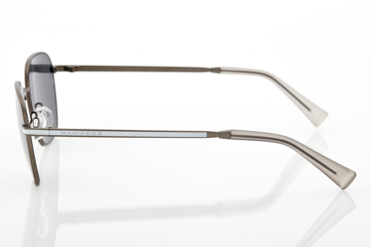Unisex Silver Sunglasses Hawkers Signal Mirror