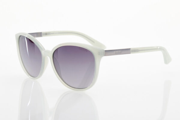Guess white sunglasses for women
