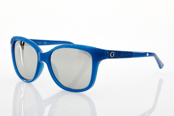 Guess blue sunglasses for women