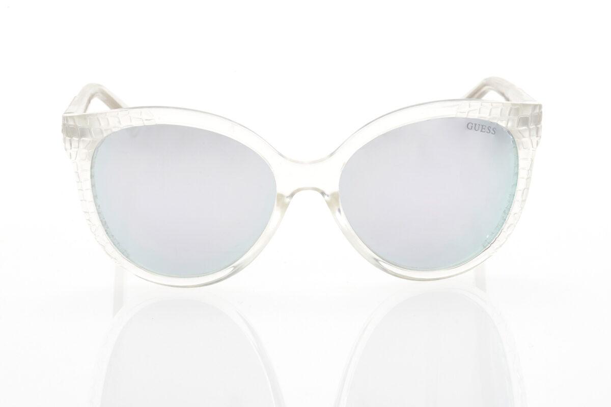 Guess transparent mirror sunglasses for women