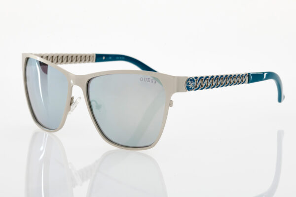 Guess silver sunglasses for women