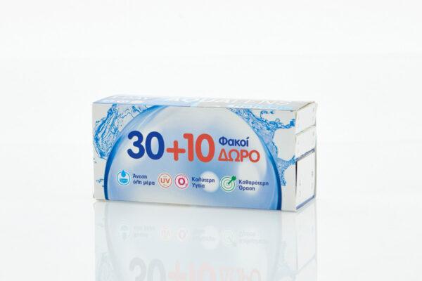 Ημερήσιοι Φακοί Επαφής Μυωπίας Aqualens Refresh One Day 30 τεμάχια +10 δώρο (1)