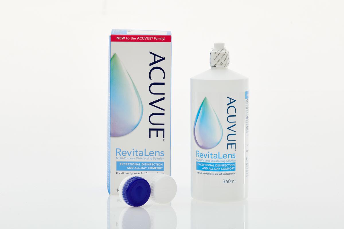 Υγρό φακών επαφής Acuvue Revitalens 360ml