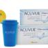 Combo Acuvue Oasys φακοί επαφής μυωπίας +travel mug
