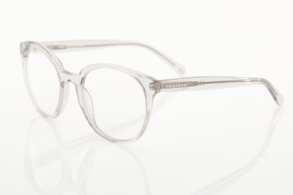 Female Transparent Glasses BLUE LIGHT Air crystal rose rx