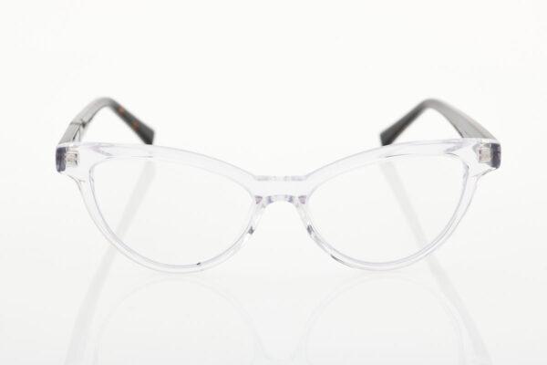 Female Transparent Glasses BLUE LIGHT Crystal Carey Chablis