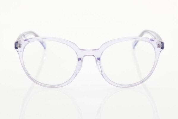 Female Transparent Glasses BLUE LIGHT Light Blue rose rx