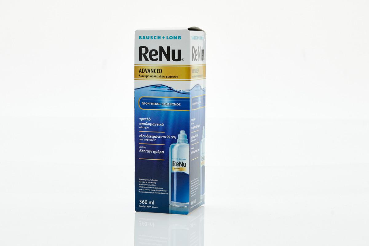 Υγρό Φακών Επαφής ReNu Advanced 360ml