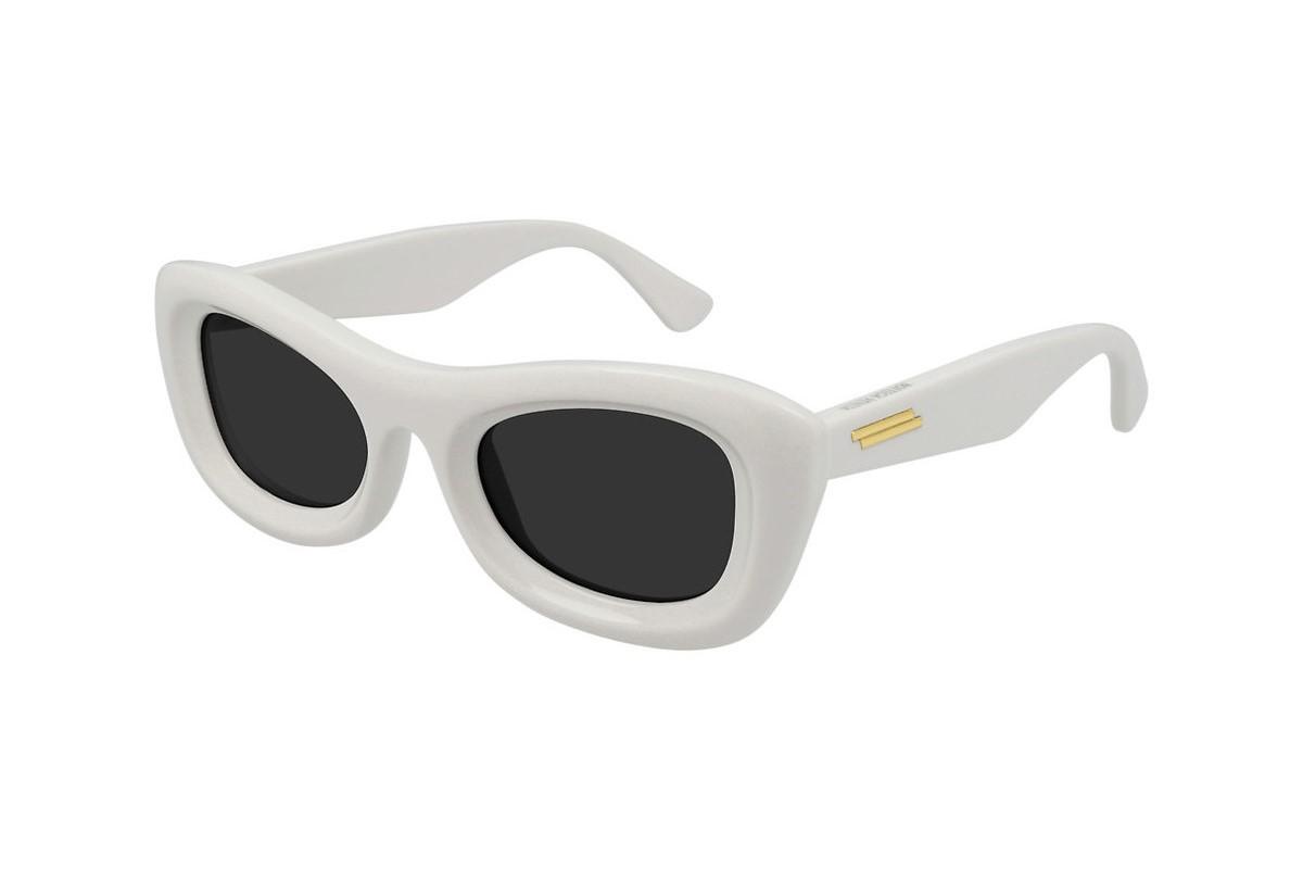 Unisex White Sunglasses Bottega Veneta