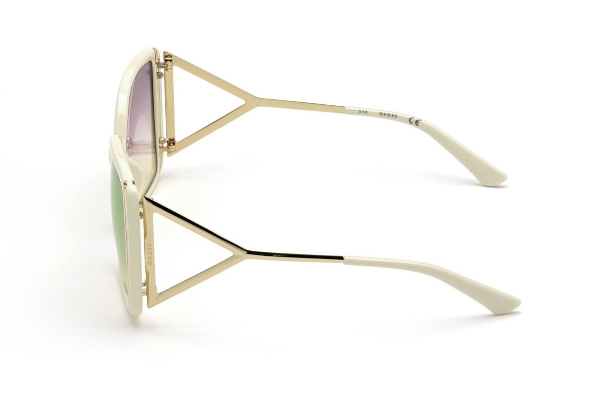 Cream Female Sunglasses Guess