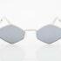 Silver UNISEX Sunglasses Hawkers Vudoo Silver