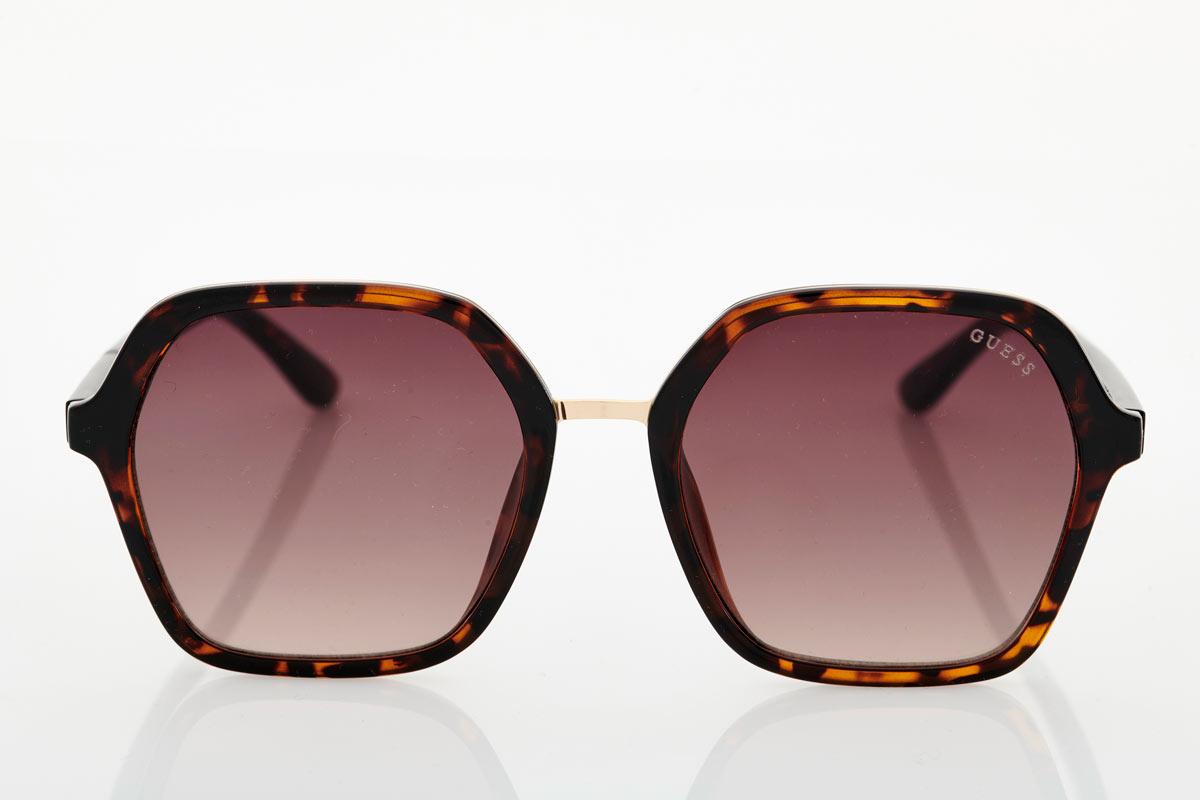 Brown Tortoise Female Sunglasses Guess