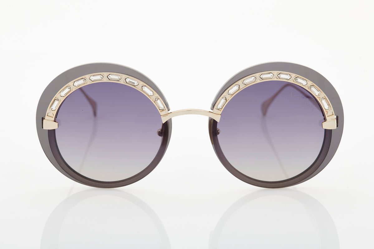 Gold female sunglasses Roberto Cavalli