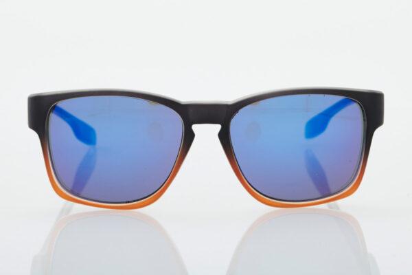 Black-Orange unisex sunglasses Hawkers Core Sunrise