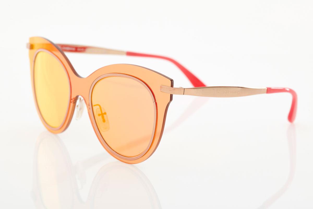 Ροζ Χρυσά Γυναικεία Γυαλιά Ηλίου Dolce & Gabbana