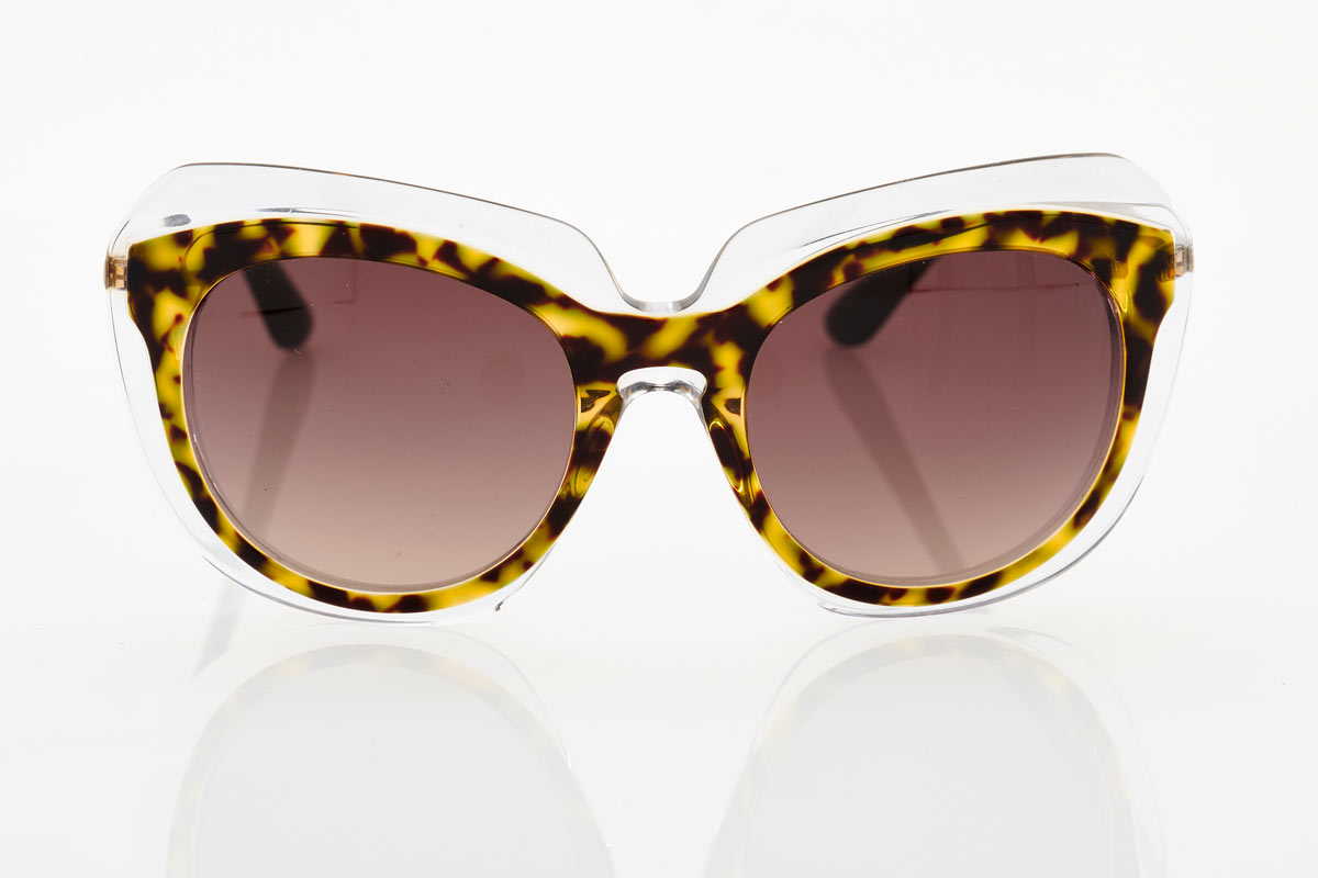 Tortoise Transparent Female Sunglasses Dolce & Gabbana